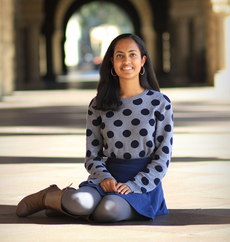 Alumna '15 earns both Stanford's Sterling Award and Alice T. Schafer math honor