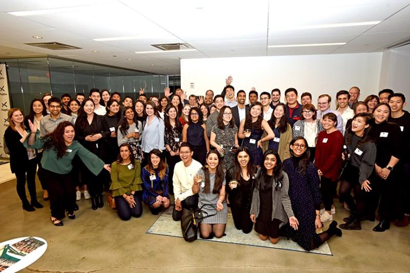 Alumni reunion in New York draws over 75
