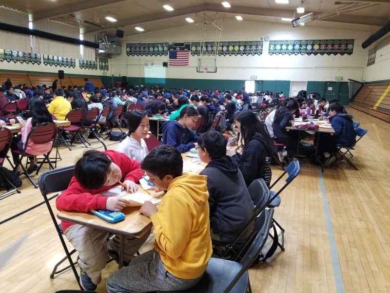 Harker Math Invitational attracts nearly 330 competitors from 15 schools