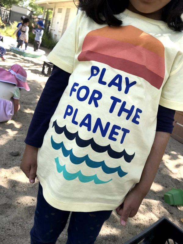 Earth Day activities at Harker Preschool boosted by parents' help