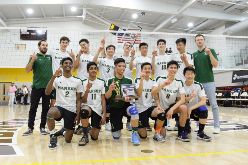 A Team for the Ages: Boys volleyball ranked fourth in the nation
