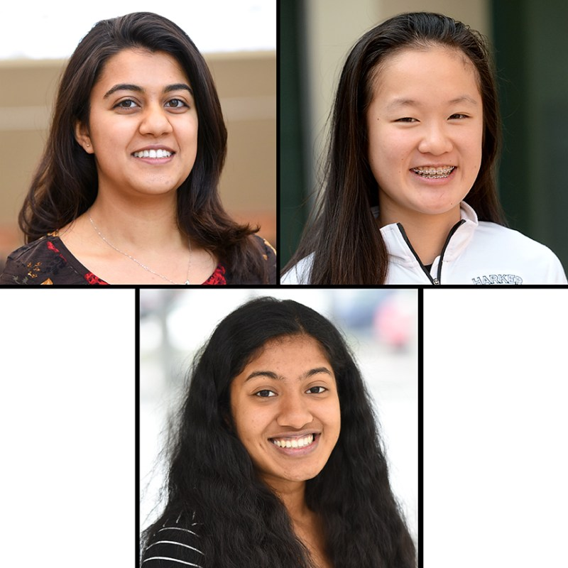 Three women earn awards from the Davidson Institute for science and technology projects