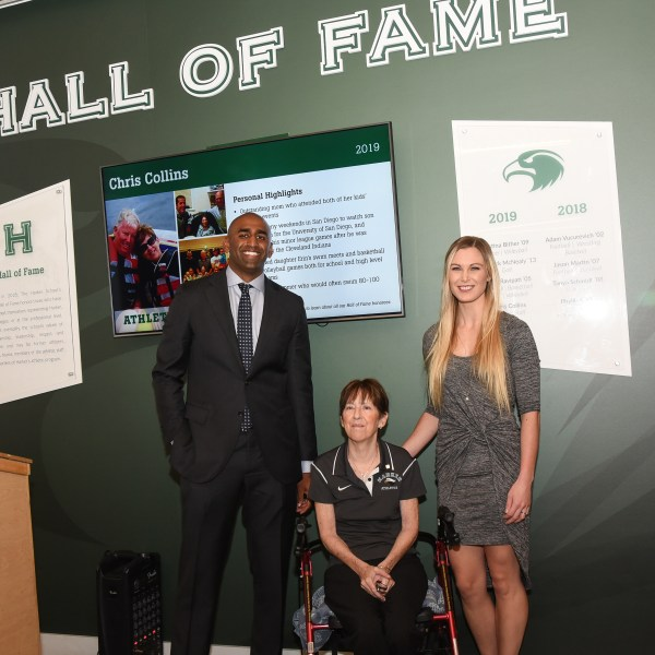 Newest inductees added to Harker's Athletic Hall of Fame