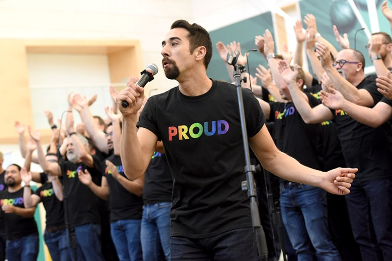 San Francisco Gay Men's Chorus brings RHYTHM assemblies to middle and upper schools
