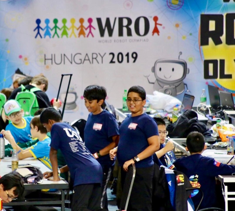 Sixth graders earn perfect scores at World Robot Olympiad international final