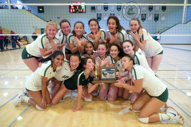 Girls volleyball wins CCS and girls golf takes fifth at NorCal; three teams named scholastic champs!