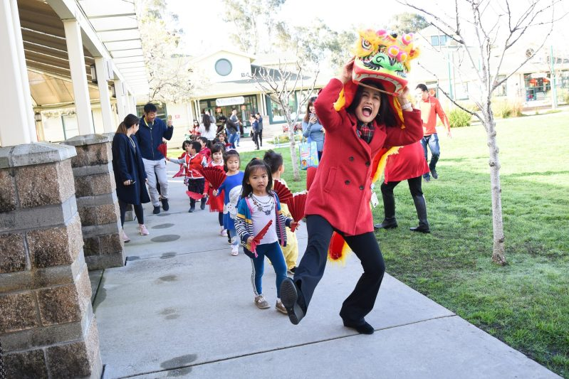Preschool's Lunar New Year celebrations were colorful and fun!