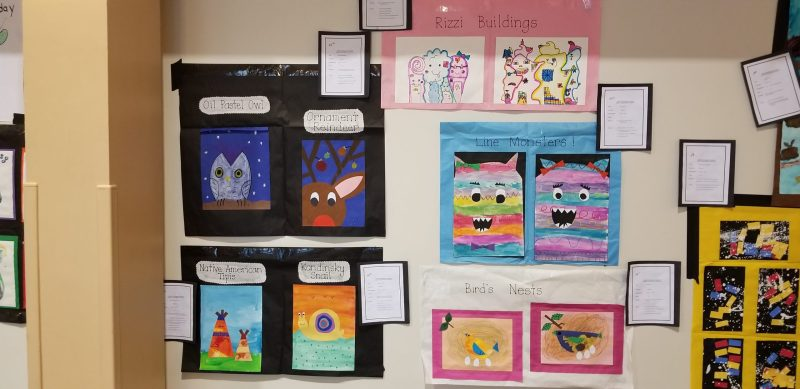 Lower school student art featured at annual exhibit
