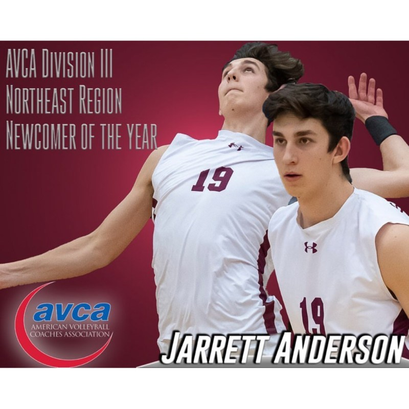 Anderson '19 named All-American and Newcomer of the Year