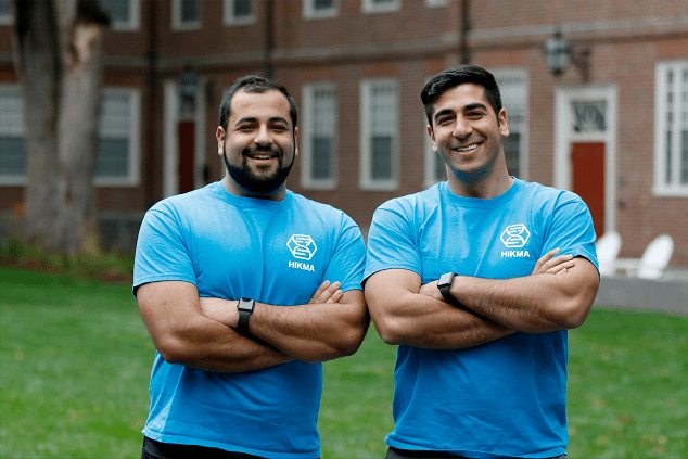 Alumni brothers' nonprofit develops tool to help refugees during pandemic