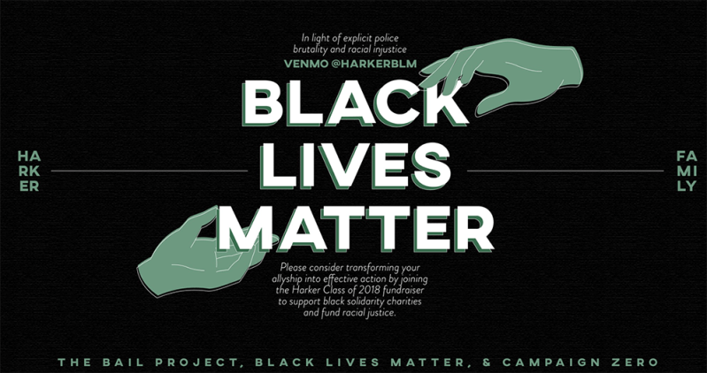 Alumni raising funds for Black Lives Matter, The Bail Project and Campaign Zero
