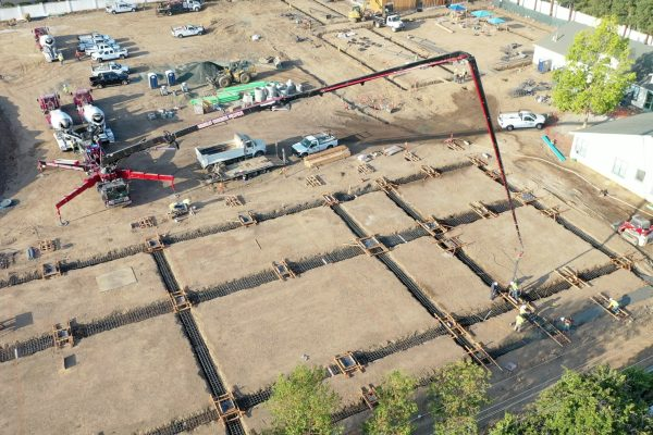 Watch: Latest construction update for future middle school campus