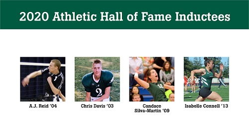Four more alumni inducted into Athletic Hall of Fame
