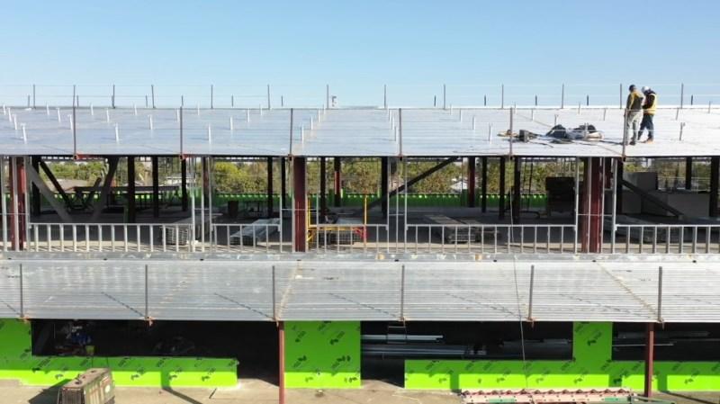 Watch: November construction update details benefits of metal studs