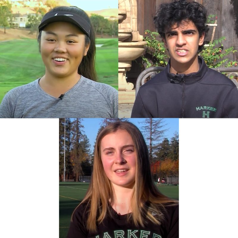 Three Harker student athletes featured on 49ers Cal-Hi Sports