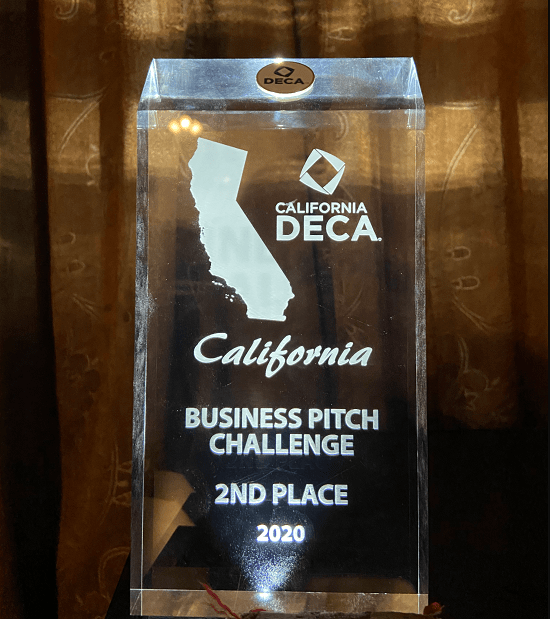 Harker team takes second place in DECA pitch challenge