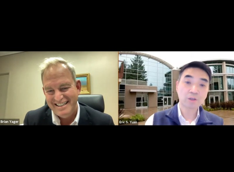 Zoom CEO Eric Yuan engages in special Q&A session