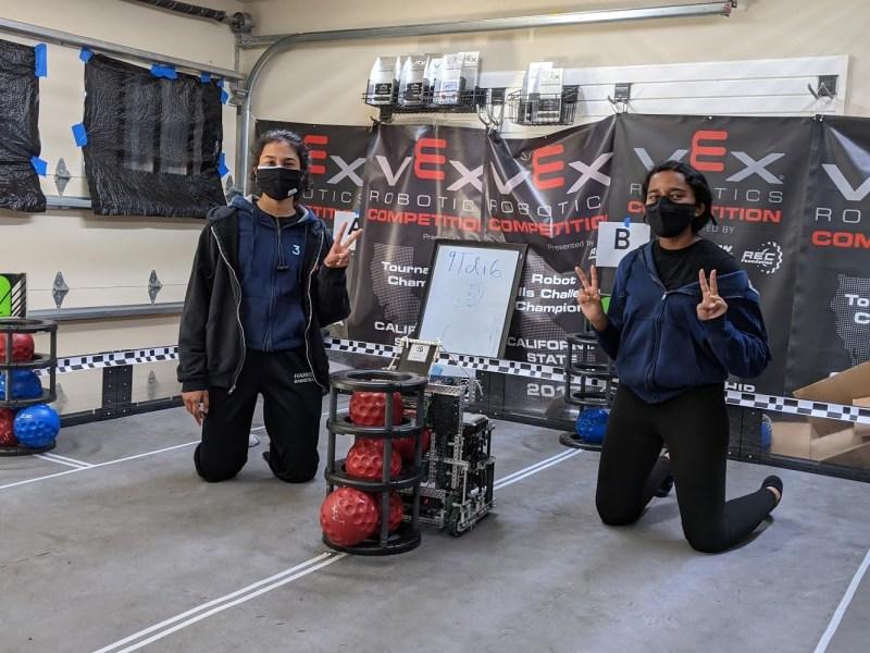 Harker students take titles at VEX World Championship