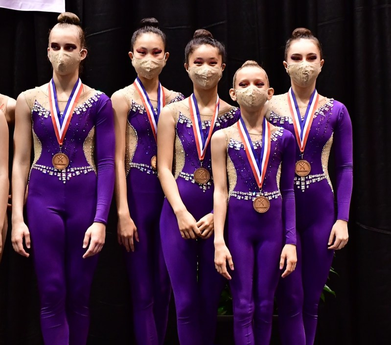 Student gymnasts' team takes third place at nat'l championship