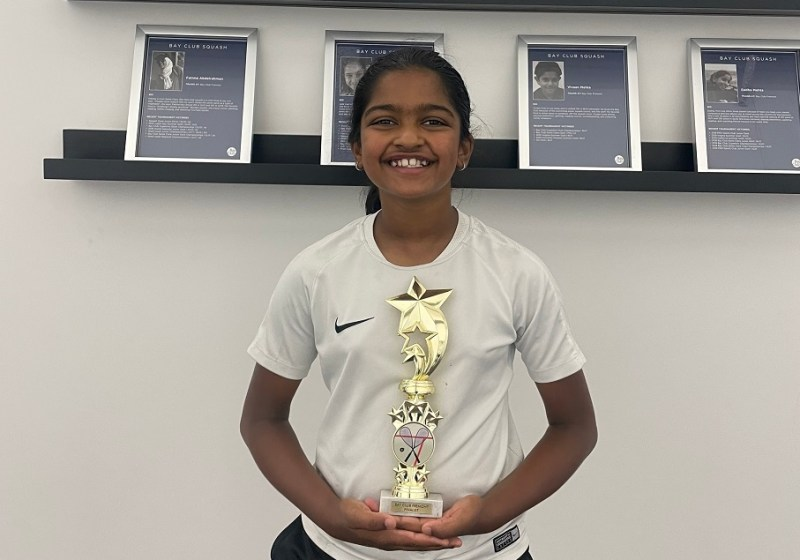 Fourth grader's squash success continues (updated)