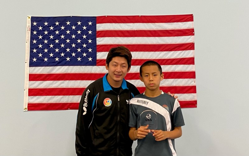 Student qualifies for national table tennis team