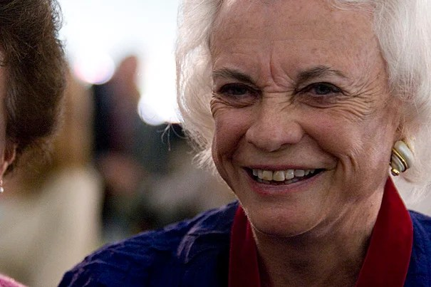 (Cambridge, MA - June 5, 2009) Sandra Day O'Connor (pictured), former Associate Justice of the United States Supreme Court and the first woman to serve as a United Supreme Court justice, gave the Keynote Address at the 2009 Radcliffe Day Annual Luncheon in Radcliffe Yard at Harvard University. Staff Photo Katherine C. Cohen/Harvard News Office