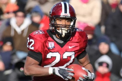 No. 16 Harvard football defeated Yale, 10-0, in the 125th playing of The Game at Harvard Stadium, Nov. 22, 2008.