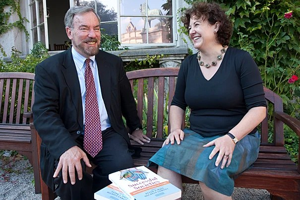 "Based on their book ""Successful Societies,"" a collection of essays, co-editors Peter A. Hall (left) and Michele Lamont believe that the health of the population turns less on the quality of the health care, or on the amount of spending that goes into health care, and more heavily on the quality of everyday life."