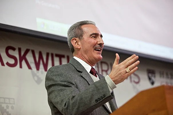 "University of Phoenix President William J. Pepicello, at the Harvard Graduate School of Education's Askwith Education Forum, argued that students receiving an online education ""don't make a distinction between physical and virtual learning."""