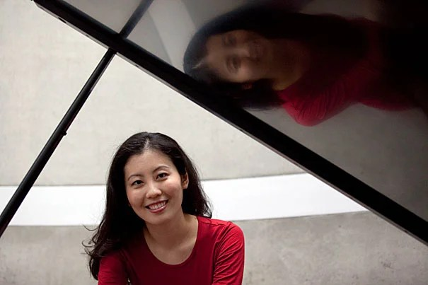 Chia-Jung Tsay and psychology professor Mahzarin Banaji (not pictured) are authors of a new paper showing a preference for inborn musical talent over musical talent developed through hard work. Tsay is working on a Ph.D. in Business Economics, a joint degree offered by the Faculty of Arts and Sciences' Department of Economics and Harvard Business School.