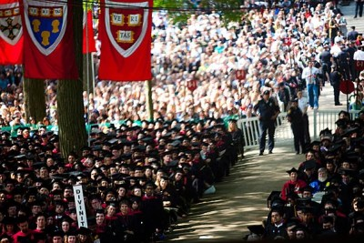 Harvard will hold its 360th Commencement on May 26.