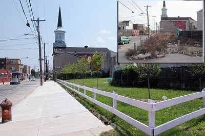 The Philadelphia LandCare Program, a Bright Ideas recipient, has transformed thousands of trash-strewn, idle parcels of land into neighborhood assets by adding trees, wood fences, and well-maintained lawns as a strategic interim precursor to development.