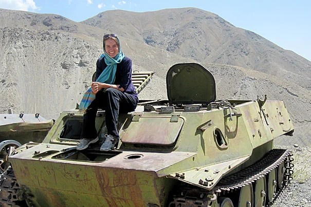 Harvard Law School student Nicolette Boehland worked with the Afghanistan Independent Human Rights Commission and the group's Special Investigation Team to explore human rights abuses among civilian casualties and detainees.
