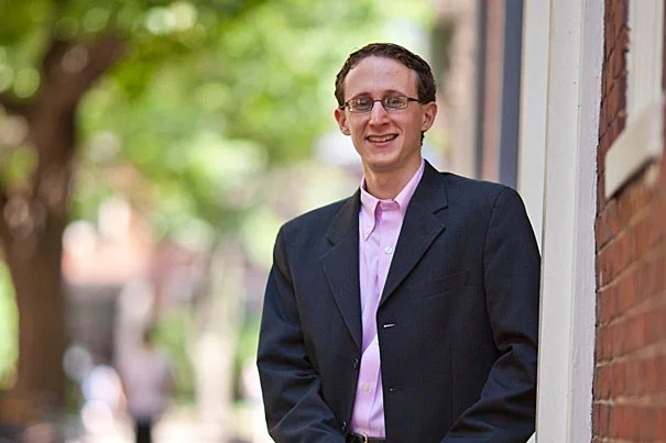"""""""My research work has been blessed with a wealth of advisers, collaborators, and resources. It has guided my academic life, and has even strengthened my already close-knit family ties,"""" said Scott Kominers, who completed his Ph.D. in business economics in the spring of 2011."""