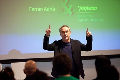 """""""Harvard is the first university in the world that has understood the importance of cooking,"""" said Ferran Adrià, widely considered the most innovative chef in the world. Now Adrià is offering Harvard Business School students an opportunity to serve up innovative ideas for his new foundation."""