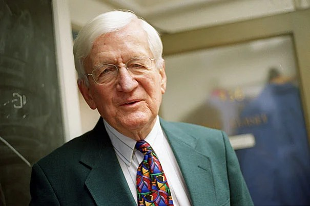 The work of Norman Ramsey, an emeritus physics professor, lay the foundation for the development of the atomic clock, a device that allows scientists to measure time more precisely than ever, and which is a critical component in global positioning systems (GPS).
