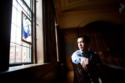 """""""If 'and what are you going do with that?' is the question that is most often asked of a literature student after disclosing his major at a family reunion, then to tell the world that I am studying theology is often to be met with a befuddlement beyond words,"""" said Harvard Divinity School student Chen Zhang. """"When confronted by the Christopher Hitchens-wielding types from the Yard, I suddenly discover that I am a poor apologist for the ecclesiastical vocation, as I belong to neither formal tradition nor do I have sacred dogmas to defend."""""""