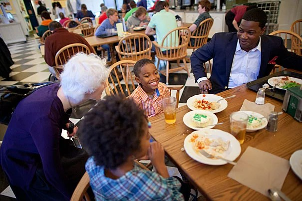 """My dining room table was my first and primary classroom,"" said Jonathan L. Walton, the new Pusey Minister in the Memorial Church effective July 1. ""I saw the ministry as an opportunity to think out loud about the most pressing human questions without losing sight of human needs."""
