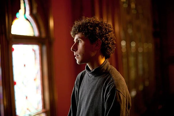 "Matt Aucoin '12 has been engulfed in an intense love affair with music since the age of 6. While at Harvard, Aucoin blazed his own artistic trail. An English concentrator, he wrote and directed two operas, including ""Hart Crane,"" and served as poetry editor of The Harvard Advocate, even winning a Thomas T. Hoopes Prize for his poetry thesis, ""Aftermusic."""