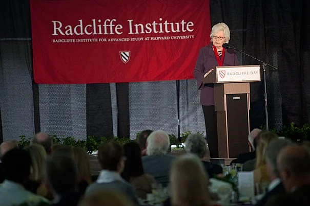"""Radcliffe Medalist Margaret H. Marshall: """"Do we here, in this great country, really want a legal system where judges vie for popularity and not for justice? The warning signs are there for all to see. The question is: Have we the will to protect a structure of government that for so long has protected us?"""""""