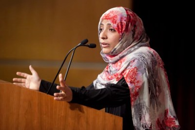 Tawakkol Karmen explains the success of the Arab Spring, and what's needed now to build and ensure democracy.