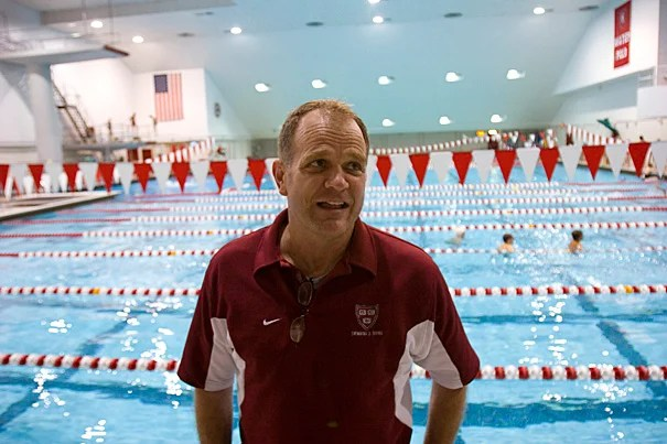 At the Olympics in London, Harvard's Tim Murphy, the Ulen-Brooks Endowed Coach for Harvard Men's Swimming and Diving, will serve as the head coach of the United States open-water swim team.