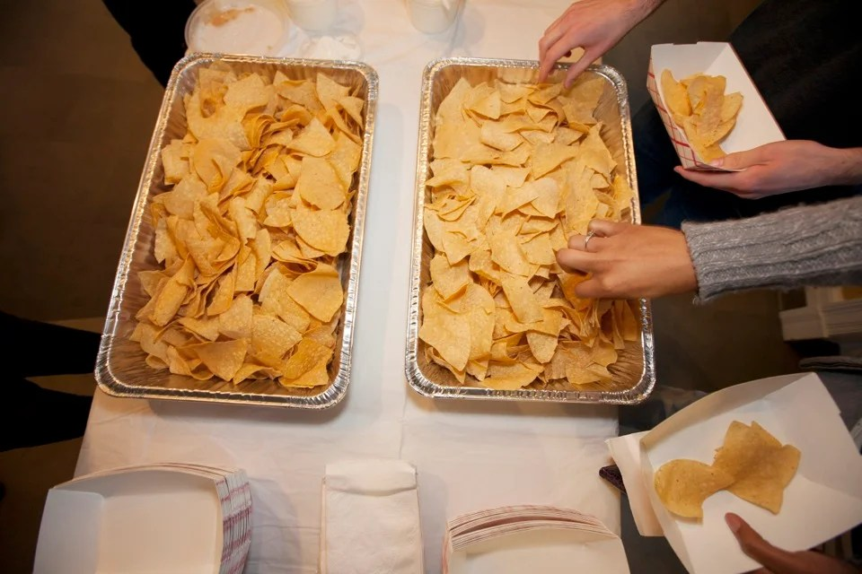 Nachos from Felipe's are a crowd favorite.