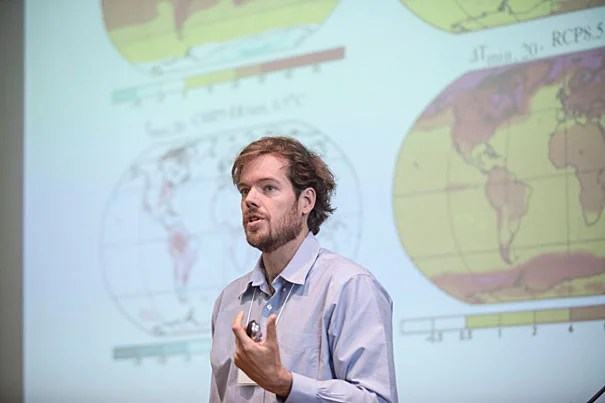 "Professor of Earth and Planetary Sciences Peter Huybers spoke at ""2013 Humanitarian Action Summit: Climate and Crisis,"" which included an overview of climate change as well as talks on climate change and food security, conflict and migration, humanitarian aid, climate predictions, and related initiatives in humanitarian organizations."