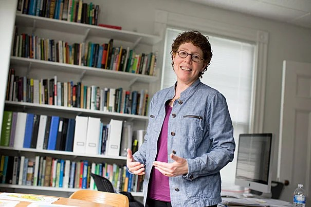 """""""We need to work with communities before disasters to prevent as many hazards as possible and to ensure a healthy recovery,"""" said Joyce Klein Rosenthal, an assistant professor at the Graduate School of Design and an instructor in the School's Risk and Resilience Master in Design concentration."""