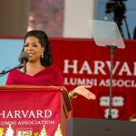"""Oprah Winfrey offering advice to the Class of 2013: """"If you're willing to listen to, be guided by, that still small voice that is the G.P.S. within yourself — to find out what makes you come alive — you will be more than okay. You will be happy ..."""""""