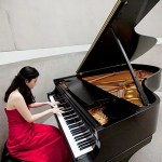 """In a study by Harvard graduate Chia-Jung Tsay (above), nearly all participants — including highly trained musicians — were better able to identify the winners of classical music competitions by watching silent video clips than by listening to audio recordings. """"In this case,"""" says Tsay, """"it suggests that the visual trumps the audio, even in a setting where audio information should matter much more."""""""