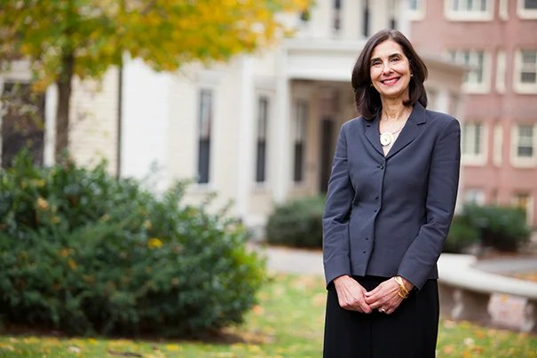 """Sandra Naddaff has been named the dean of the Harvard Summer School. """"I am delighted to be joining the Harvard Summer School, and am especially excited by the opportunity to work with such a broad range of programs and students, both here on our Cambridge campus and abroad,"""" said Naddaff '75, A.M. '78, Ph.D. '83."""