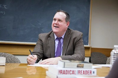 """""""If you make the humanities available to everyone, everyone has something to say, everyone has something to give, everyone has something to learn,"""" said Harvard lecturer Tim McCarthy of the Clemente Course in the Humanities, a free, nationwide course available to individuals experiencing adverse conditions or economic hardship. McCarthy holds the course's first endowed chair."""