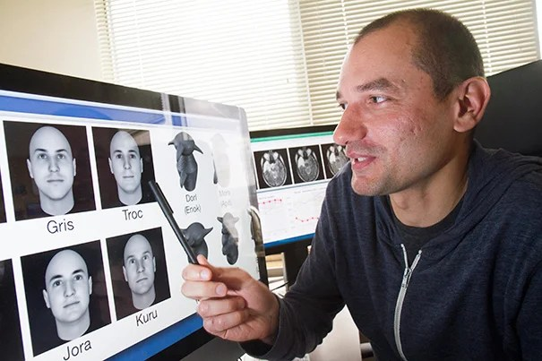 "Constantin Rezlescu, a postdoctoral fellow in psychology, co-authored a study that ""provides indirect evidence that there may be some specific mechanism for processing faces."""